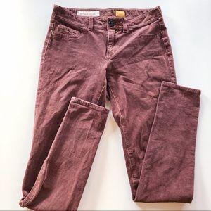 Pilcro and the Letterpress brown corduroy pants